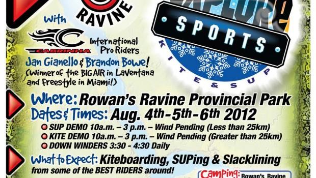 Brandon Bowe Clinic at Rowan's Rivine in Saskatchewan Parks Canada