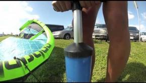 Moona Whyte Strapless Kitesurfing on Oahu