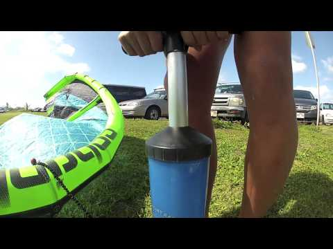 Moona Whyte Strapless Kitesurfing on Oahu