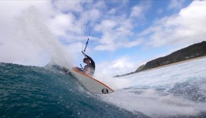 Keahi de Aboitiz Cabrinha 2014 Photo Shoot Video