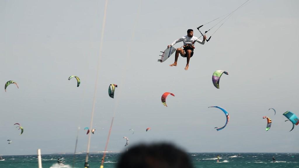 Paulino Pereira - Tarifa Strapless Kitesurfing Pro 2015