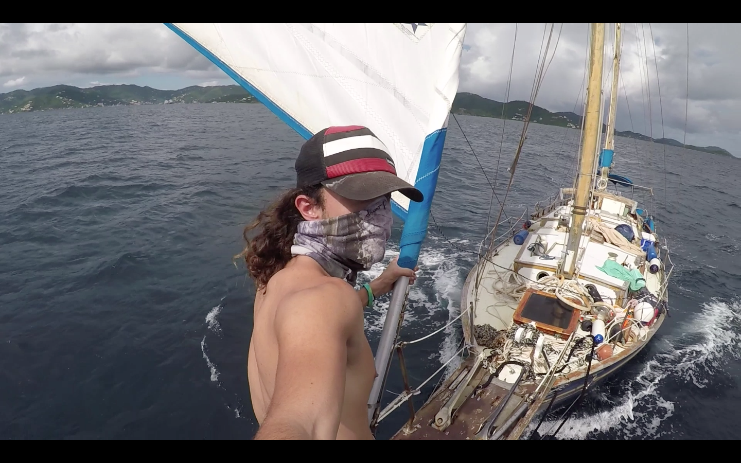 Brandon Bowe - Sailboat selfie